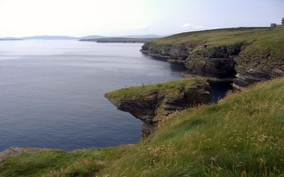 Looking west to Neb and Hoy
