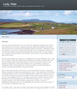 Lurdy Flotta Website